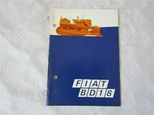 Prospekt Fiat BD18 Technische Daten Verkaufsargumente 6/1970