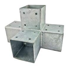 Holzverbinder Eckverbinder 90x90mm Pfostenecke feuerverzinkt Balkenschuh Balken