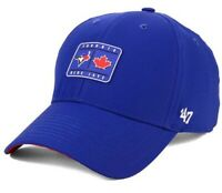 Toronto Blue Jays Hat Cap '47 Brand MVP Adjustable MLB Silicons Patch Royal NEW