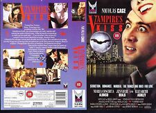 Vampire's Kiss, Nicolas Cage Video Promo Sample Sleeve/Cover #15540