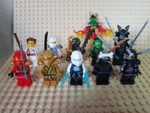 GENUINE LEGO Ninjago Minifigures Bundle Griffin Turner Zane Titanium Gold Lloyd