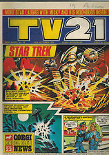 TV21 COMIC New Series No. 58 from 1970
