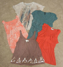 Maurices-Decree-Sonoma-Piper Blue - Juniors Shirts Lot of 5 sz XS/S