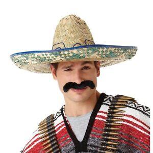 cinco de mayo Pancho Villa Mexican Facial Hair Hombre Moustache _ Free Shipping