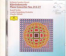 Mozart: Concerti Per Pianoforte No. 21 & 27 / Serkin, Abbado, London So- CD