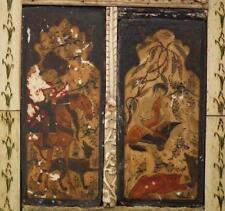 Antique Islamic Turkish Ottoman Indo - Persian Miniatures Dervish Haji Veli