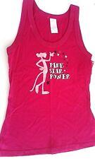Pink Panther women's shirt tank top juniors small nwt