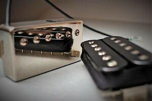 Vintage Voiced PAF Humbucker Guitar Pickup Set - Handwound in U.K