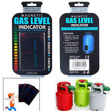 Magnetic Gas Level Indicator Home Bottle Gauge Butane Propane - Calor LPG Fuel