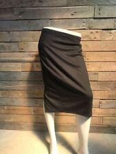BARBARA HULANICKI - GEORGE Ladies Black Polyester Stretch Bodycon Skirt Size 12