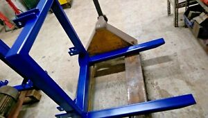 Tractor Mounting Pallet Forks 3 Point Linkage Towing Lifting Attachment 1000mm