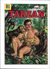 TARZAN #75  [1955 GD-VG]  BANANA'S COVER!