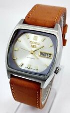 RARE VINTAGE SEIKO 5 21 JEWELS AUTOMATIC JAPAN MADE WRIST WATCH FOR MEN'S WEAR