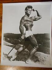 "Bodybuilder STEVE REEVES muscle 8"" x 10"" bodybuilding photo"