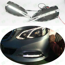 2* Fog Light+Fog Light Cover Fit For Mercedes W212 E206L E400L 2014-2015 FJ2/211