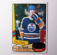 1980-81 Topps NHL WAYNE GRETZKY #87 All Star HOF O-Pee-Chee OILERS ~ See Photos