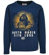 Legowear Star Wars Long Sleeve Top Navy Darth Vader age 4