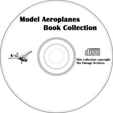 Model Aeroplanes Vintage Book Collection on CD