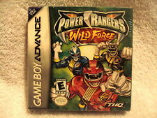 POWER RANGERS WILD FORCE GAMEBOY (GAME BOY) ADVANCE GBA NEW SEALED