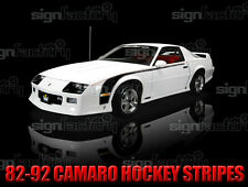 82-92 Chevy Camaro Z28 Iroc-Z SS RS Hockey Stripes Graphics Pinstripe Decal