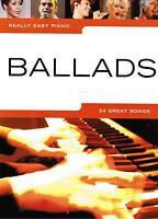 Klavier Noten : BALLADS - 24 Great Songs  (Really Easy Piano ) - Leicht - B-WARE