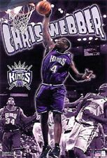 2001 Chris Webber Sacramento Kings Original Starline Poster OOP