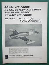 3//1964 PUB BRITISH AIRCRAFT CORPORATION TSR2 TACTICAL STRIKE RECONNAISSANCE AD