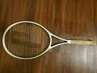Vintage Prince Graphite Fiberglass Kev. Tricomp 110 Tennis Racquet 4 1/2 Grip