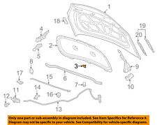 GM OEM Hood-Insulation Retainer 94530503