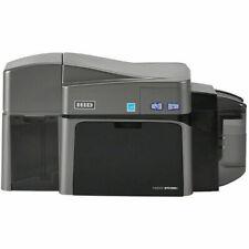 Fargo 50130 DTC1250e Dual-Sided Card Printer + Magnetic Encoding & Ethernet NEW!