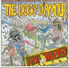 Dogs D`Amour King of Thieves Japan CD 14 Tracks 1989 No Obi Rock Tyla