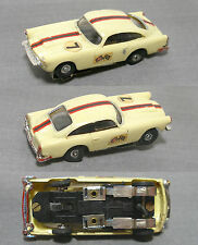 1pc 1960s Hong Kong Kader 1964 Aston Martin Db5 Slot Car Rare South America OK
