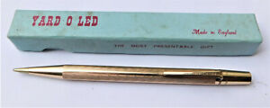 NO RESERVE Yard O Led Rolled Gold Mechanical Propelling Pencil Vintage Antique