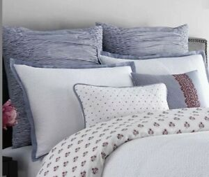 Real Simple French Riviera EURO Sham  New
