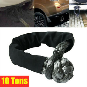 Universal Car ATV UTV Towbar Connecting Rope Winch Pull Line Cable Nylon Towing