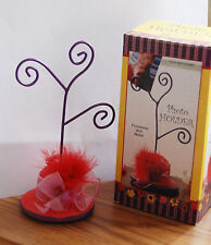 Red Hat Card or Photo Holder / Table Accent / Decorative Red Hat Party Item