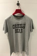 PETER ALEXANDER Grey 'Grizzly Bear' T-Shirt - Mens Size S