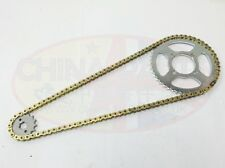 Honda CG 125 '06-09 Models Heavy Duty Chain and Sprocket Kit GOLD