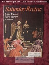 Saturday Review September 25 1971 BALLET THEATRE GRAHAM GREENE MALCOLM COWLEY