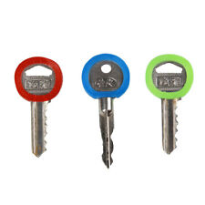24pcs Soft PVC Key Top Head Cover Cap Case Holder Keyring Topper Key Guard