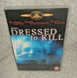 Dressed To Kill (DVD, 1980, 2002) Michael Caine