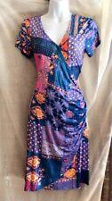 Dress, Desigual, multicolor faux wrap dress, M size 10, NWT,