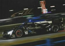 Fernando Alonso signed photo. 2019 24 Hours of Daytona.  COA. 15X21