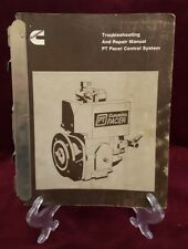 Cummins Pt Pacer Control System '89/Pace catalog '88/Pace repair manual '87