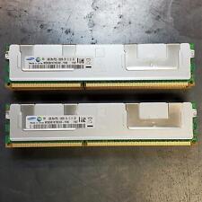 New listing Lot Of 8 Samsung 8Gb Pc3L-10600R 2Rx4 Registered Server Ram M393B1K70Chd