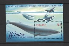 1998 South Africa Whales SG MS 1105 muh