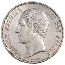 Monnaies, Léopold I, Belgique, 5 Francs Tête Nue #55674