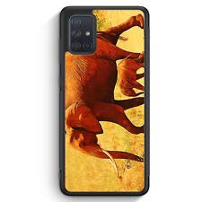 Elefant Familie Silikon Hülle für Samsung Galaxy A71 Motiv Design Tiere Schön...