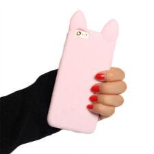 3D Cat Handyhülle Schutz Hülle Silikon Cover Schutz Case für iPhone 6 6p 7 7p!