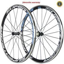 SUPERTEAM Carbon Bike Wheelset 38mm Clincher Alloy Brake Surface R36 700c Wheels